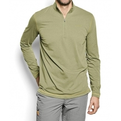 Men's drirelease® Long-Sleeved Zipneck Casting Shirt